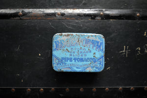 Edgeworth Sliced Pipe Tobacco Tin - Larus & Bro. Co. - Richmond, Virginia - Made in the USA