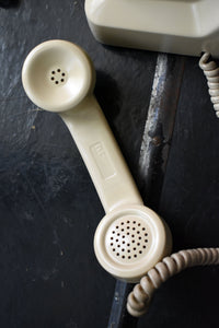 Cream Telephone - Made in Canada - Working!