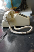Load image into Gallery viewer, Cream Telephone - Made in Canada - Working!