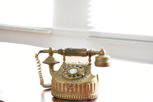 Brass Vintage Telephone - Working!