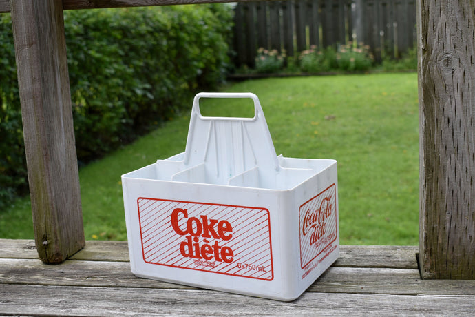 Diet Coke Plastic Crate - Soda Pop Bottle Case - Retro Soft Drinks - CocaCola - Coke Bottle Box - Lot 2