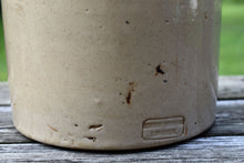 Load image into Gallery viewer, Stiff & Lambeth Clay Crock - Antique English Jug - Vintage Oyster Jar - Cream Color
