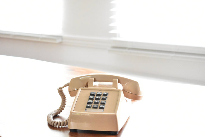 Beige Telephone - Working! - Made in Canada