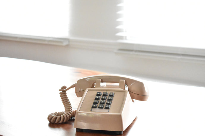 Beige Rotary Telephone - Working! - Made in Canada