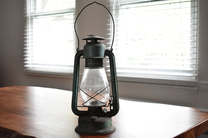 Turquoise Beacon Lantern - Made in Canada