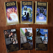 Load image into Gallery viewer, Vintage Star Wars VHS Tape Collection