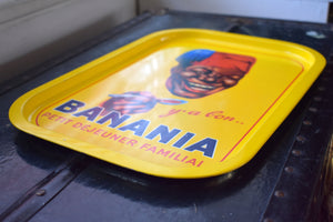 Banania Y'a Bon Tray - Vintage Breakfast Advertisement - Vintage Trays - Antique Food Brands - France