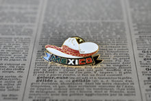 Load image into Gallery viewer, Mexican Sombrero Lapel Pin - Vintage Mexican Flag