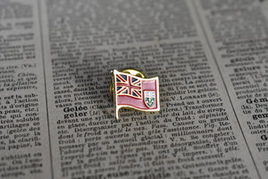 Ontario Flag Lapel Pin - Ontario Crest - Canadian Province Pin