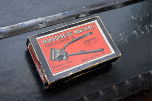 Hoffritz Haarschneide Maschine Manual Hair Clippers - Vintage Original Box - Made in Germany