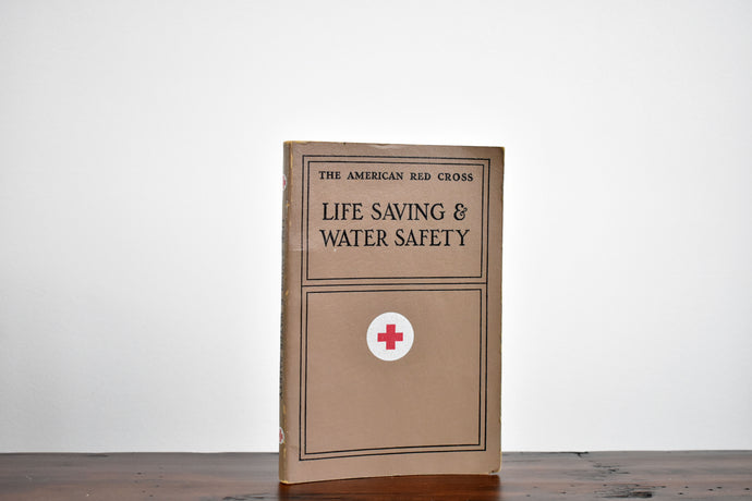 The American Red Cross Life Saving & Water Safety Book - Vintage Softcover Book - Doubleday and Company - Printed in the USA