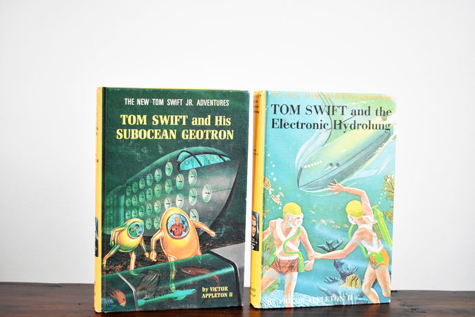 Tom Swift Books - Set of 2 Hardcovers - Grosset & Dunlap Publishing - Printed in the USA - 1960s