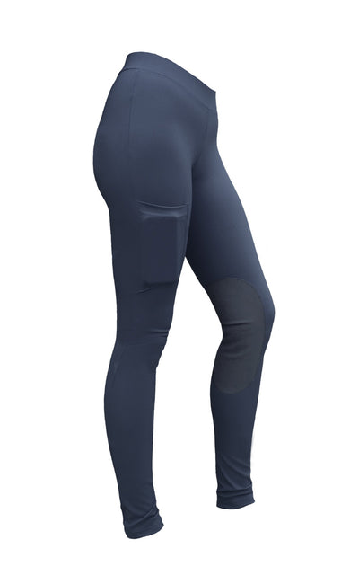 Rackers Women's Endurance Riding Tights with Pocket