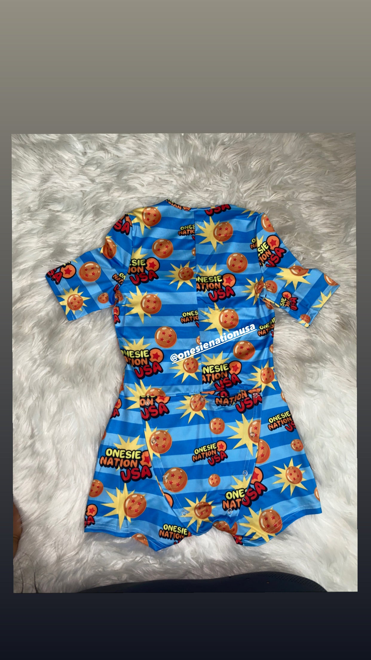 ONU Dragon Ball - Onesie Nation USA