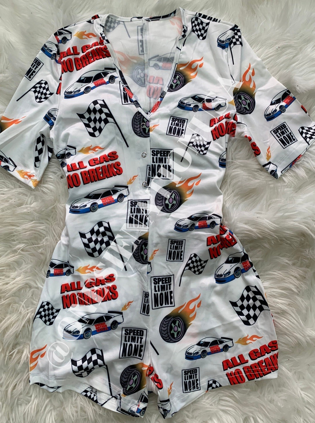 ALL GAS NO BREAKS - Onesie Nation USA