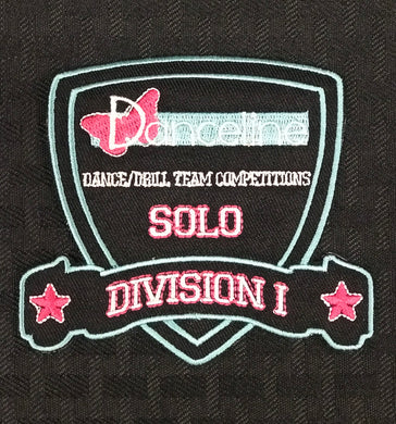 Solo Division I Award Patch