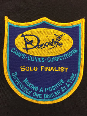 Solo Finalist Award Patch