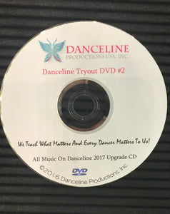 Danceline Tryout DVD #2