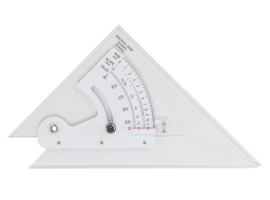 Adjustable Triangle (Clear Acrylic) Inking Edge - 2 Sizes 2010G 2012G