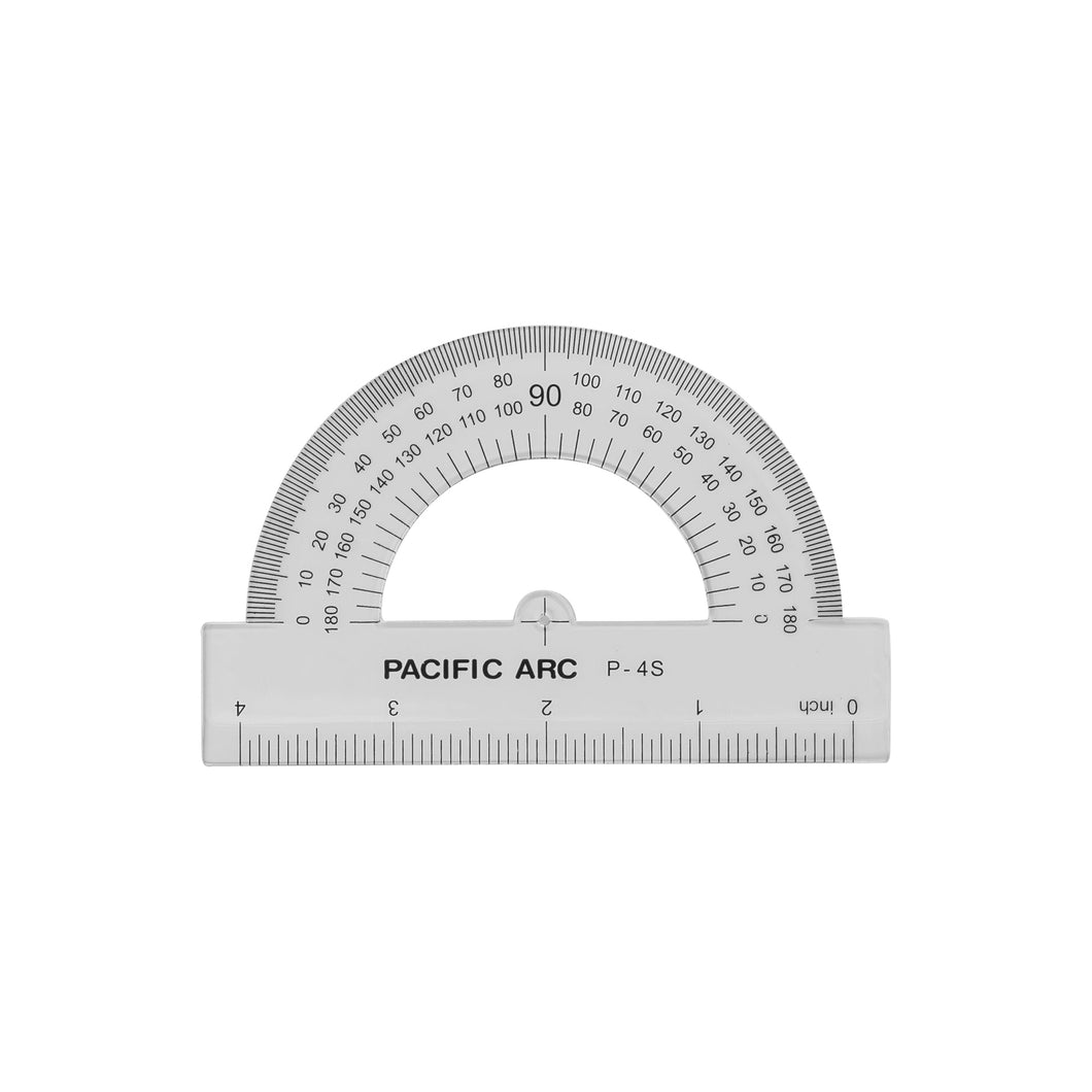 180 Degree Semi-Circle Protractor P-4S P-6S P-8S P-10S P-12S