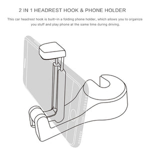 HOOK - Car Headrest Hanger