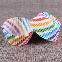 Load image into Gallery viewer, BIGTOP - Rainbow Cupcake Liners