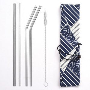 STEEL'D - Stainless Steel Straws