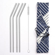 Load image into Gallery viewer, STEEL'D - Stainless Steel Straws