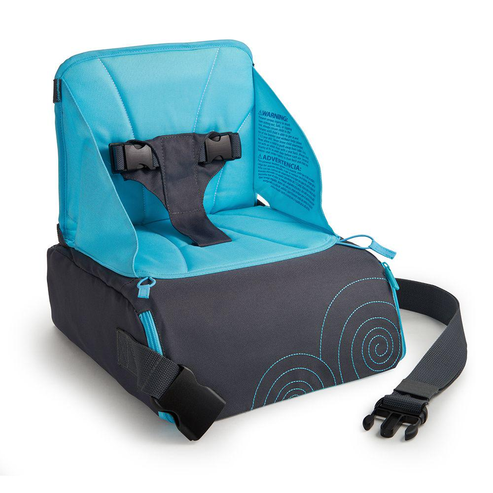 Munchkin Brica Go-Boost Travel Booster Baby Seat Blue
