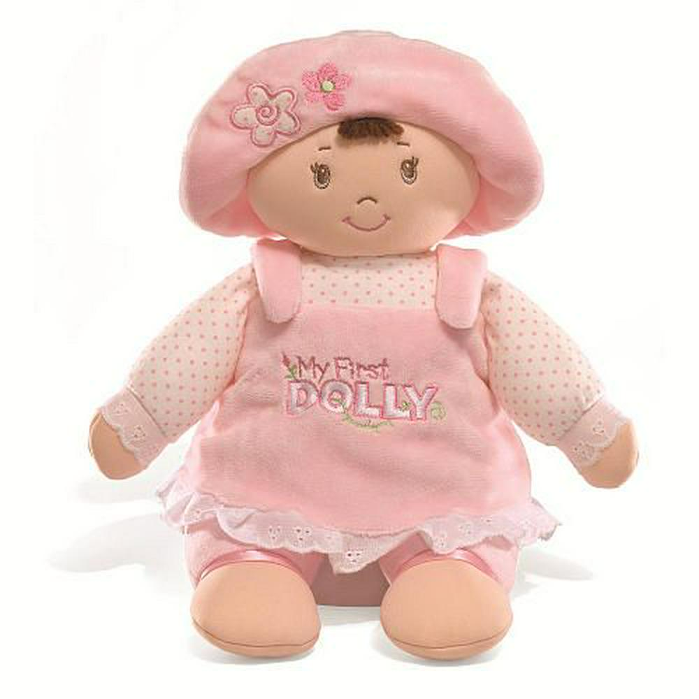 GUND My First Dolly-Brunette 33cm 13""
