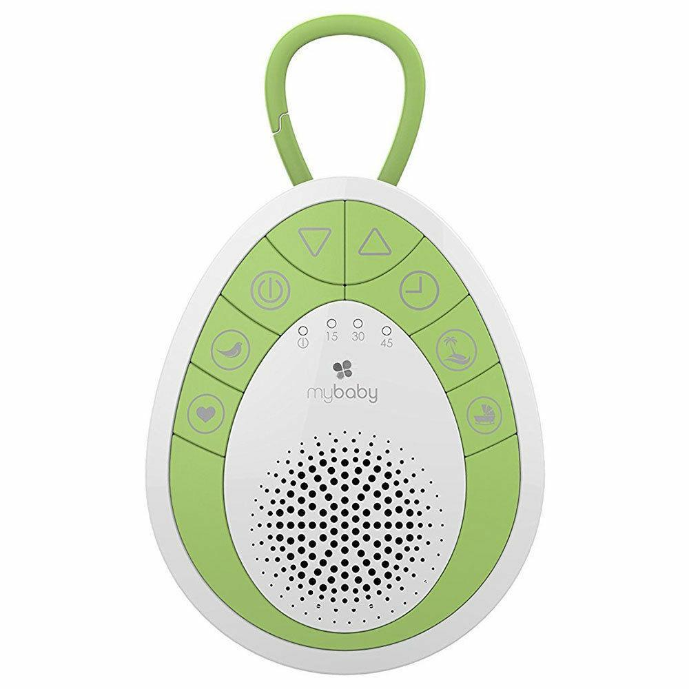 Mybaby By Homedics MyBaby SoundSpa On The Go Soother (Green & White) 15 x 10 x 4cm Apple Green/White