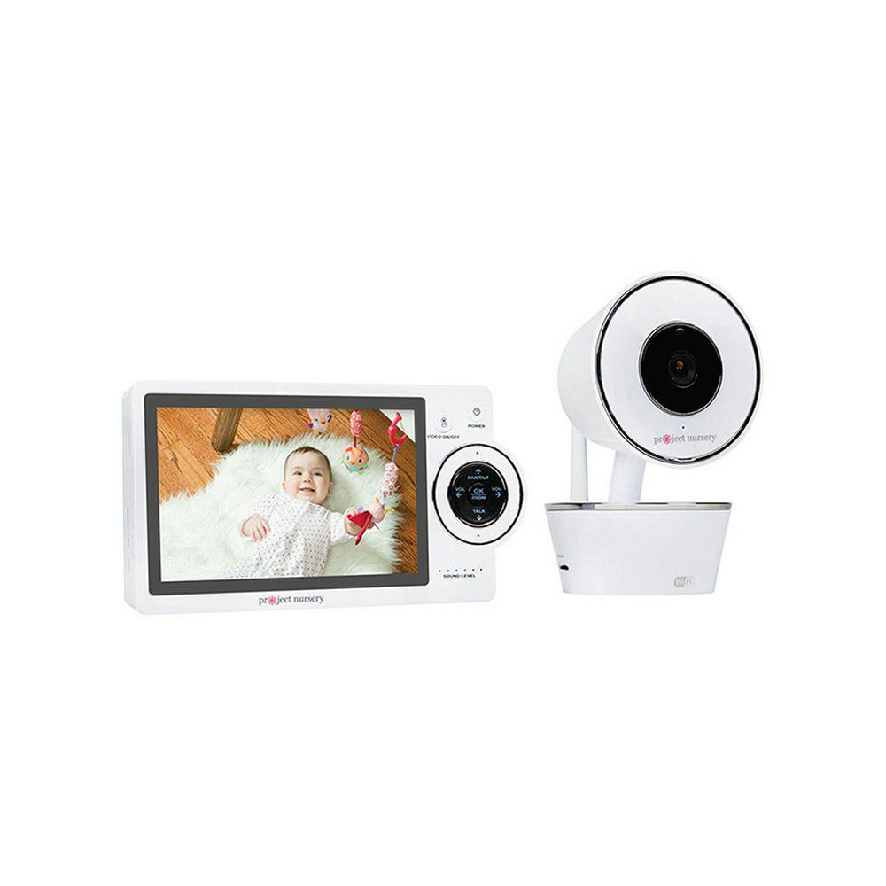 Project Nursery HD Dual Connect Wi-Fi Baby Monitor System - PNMDUAL5 12.7cm