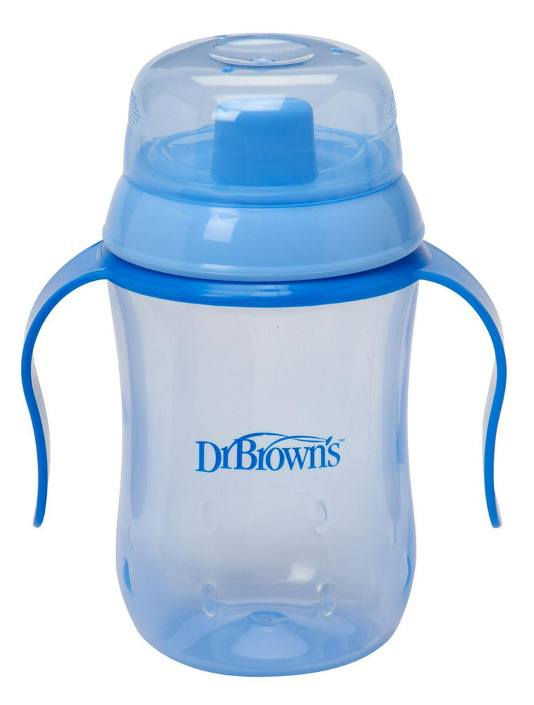 Dr. Brown's Natural Flow Hard Spout Trainer Cup - Blue Blue