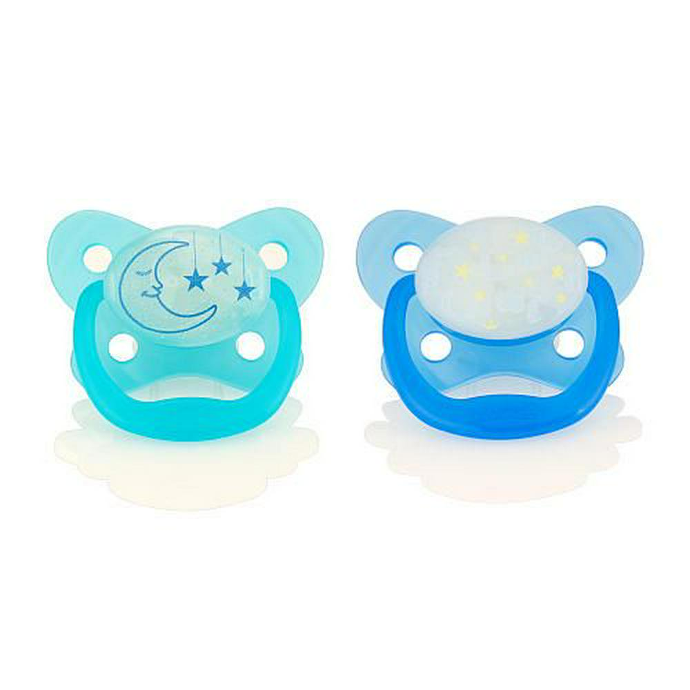 Dr. Brown's Glow in the Dark Pacifier (Girl) - 6-12 Months Default Title