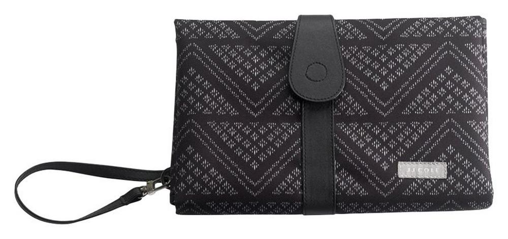 JJ Cole Changing Clutch 48x71cm, Pad Black Aztec