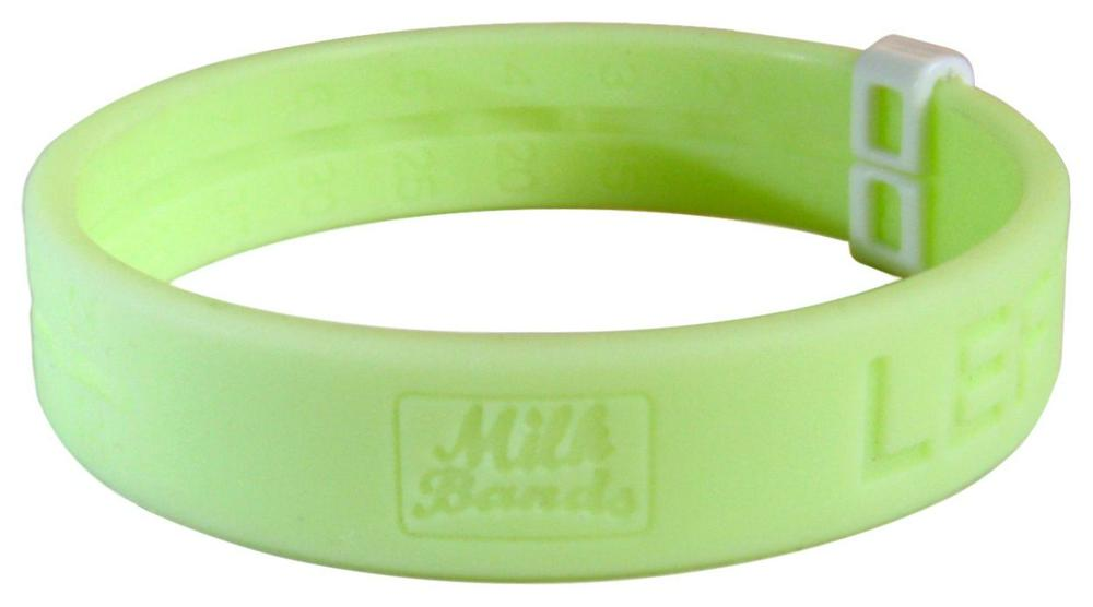 Milk Bands Nursing Reminder Bracelet Green
