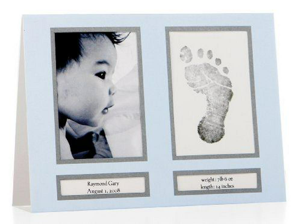 Pearhead Pearhead Birth Announcements Infant Blue