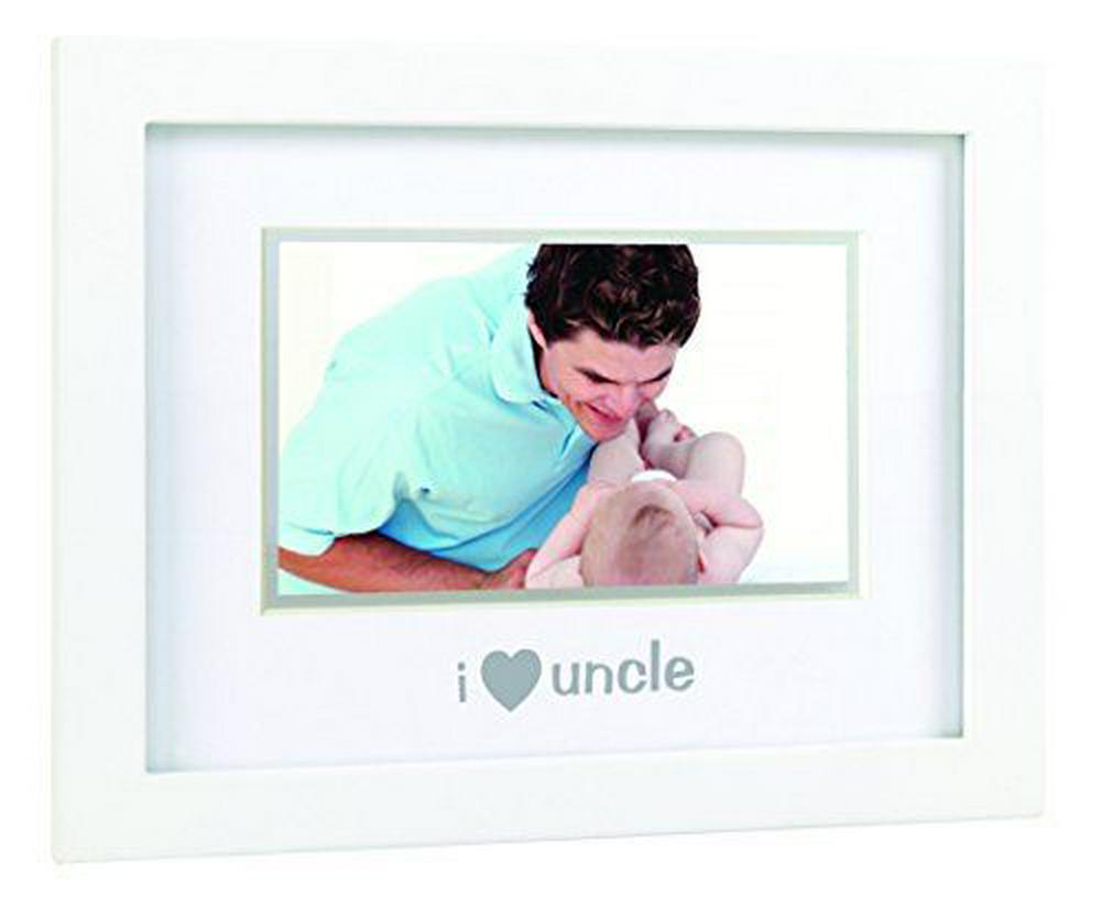 "Pearhead Sentiment Frame ""I Love Uncle, I Love My Uncle"", White I Love My Uncle/White"