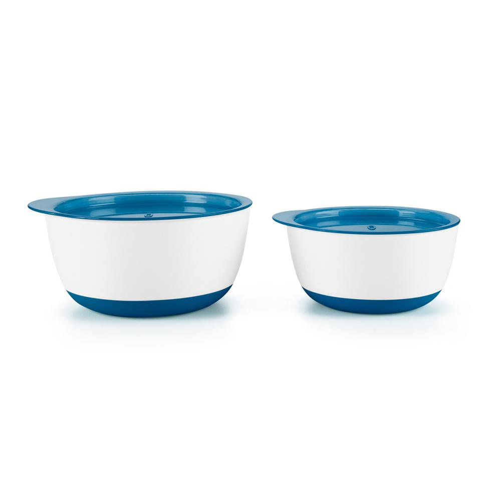 OXO Tot Small & Large Bowl Set Small: 150mL, Large: 250mL Navy