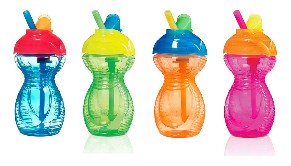 Munchkin Click Lock Flip Straw Sippy Cup 260mL