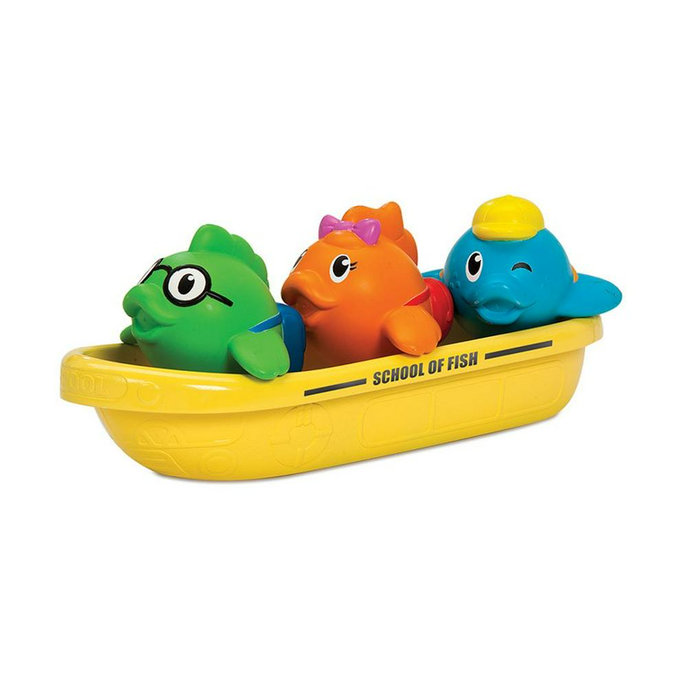 Munchkin School of Fish Bath Toy 5""