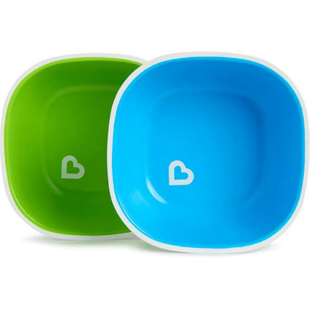 Munchkin Splash Toddler Bowls - 2 Pack Assorted