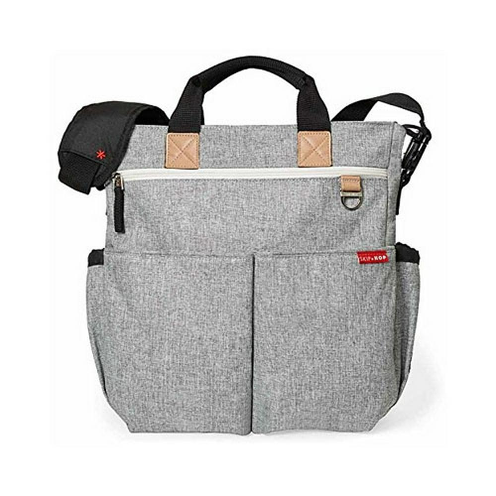 Skip Hop Duo Signature Nappy Bag Grey Melange