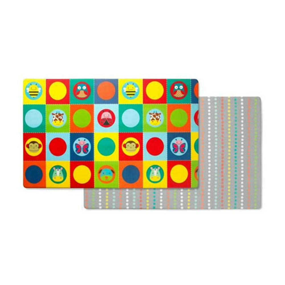 Skip Hop Zoo Doubleplay Reversible Playmat 218l x 132w cm