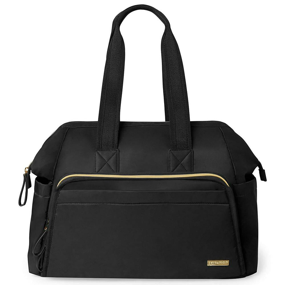 Skip Hop Main Frame Wide Open Satchel Black