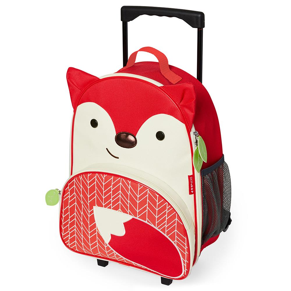 Skip Hop Zoo Little Kid Rolling Luggage - Fox 30 X 14 X 41cm Fox