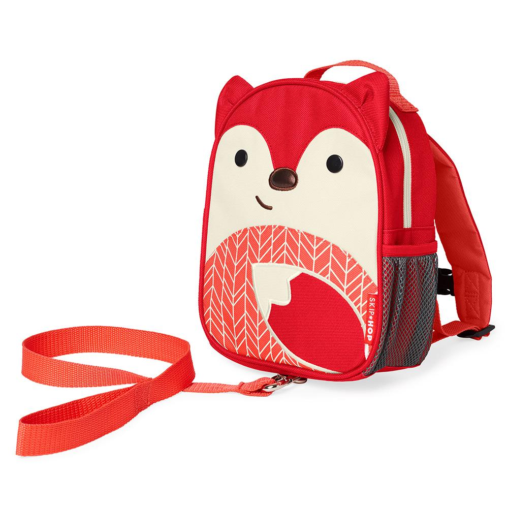 Skip Hop Zoo-Let Mini Backpack with Rein 21.3 x 6 x 25cm Fox