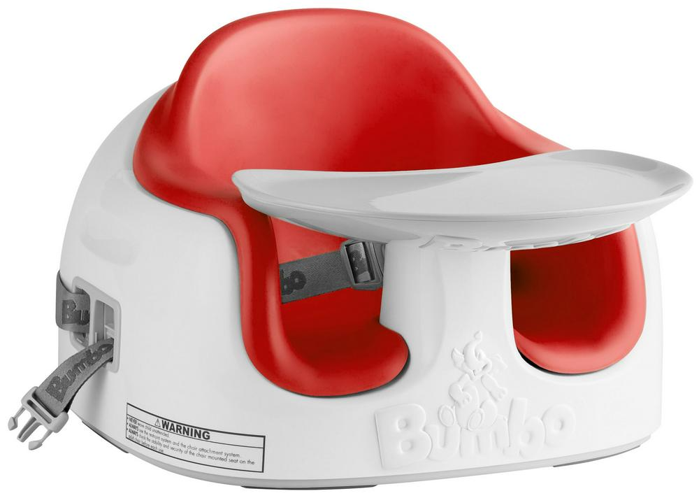 Bumbo Multi Seat - Adjustable Baby Seat With Tray - Red Red