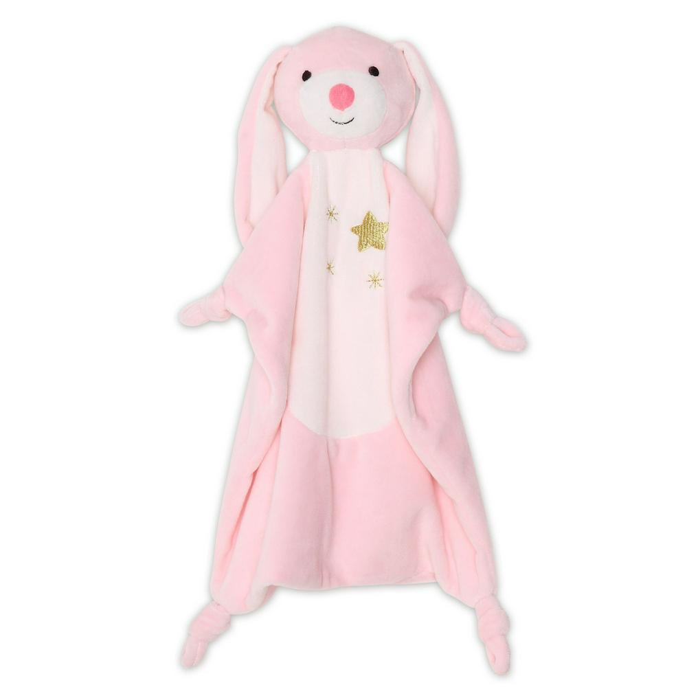 The Peanut Shell Security Plush Blanket 132 x 77 x 19cm Bunny