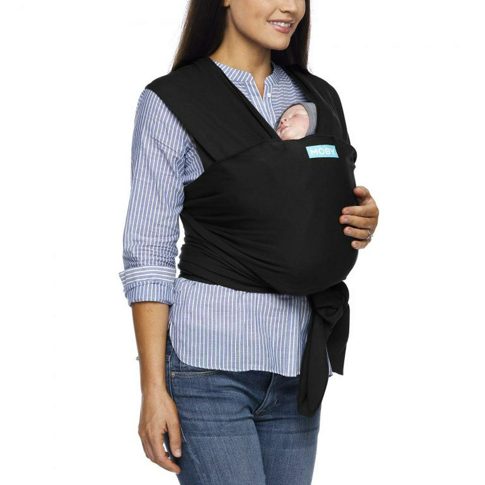 Moby Evolution Wrap Baby Carrier Black